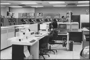 IBM Mainframe Computer Room