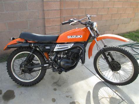 Suzuki 185 Enduro vintage 1978 suzuki ds185 enduro ahrma title