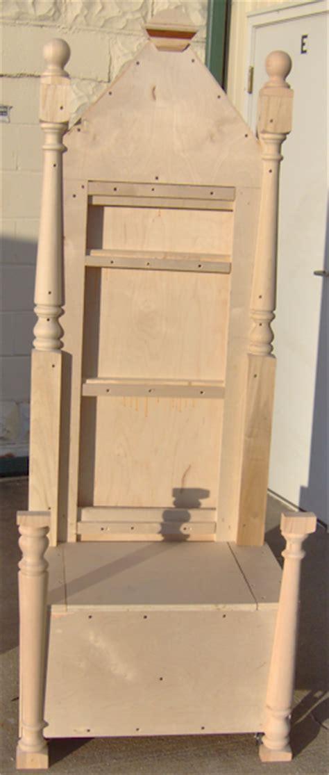 santa chair santa throne theme design props