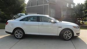 Find Used 2013 Ford Taurus  Flex Fuel  Limited  White W
