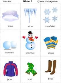 winter 1 flashcard