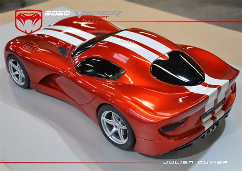 2020 Dodge Viper by 2020 Viper Concept 1 8 Foam Model By Julien Ouvier