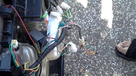 Hotwire Wire Ignition For Mini Bike Youtube