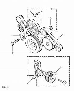 Land Rover Discovery Td5 2 5 Diesel Fan Belt Idler Pulley