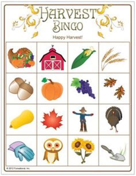 fall and harvest class bingo free printable bags 661   58fcb6091e3a2b8585bad4451b683058