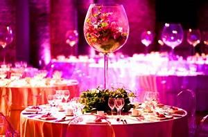 Verre Pour Table : un verre en guise de centre de table ~ Teatrodelosmanantiales.com Idées de Décoration