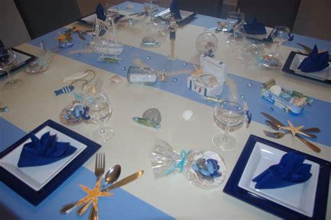 deco theme de la mer table th 232 me la mer deco de table de christine