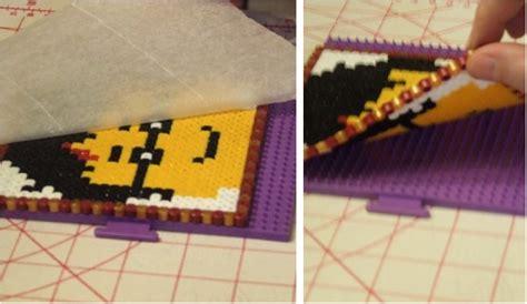 harry potter lego minifigure heads  perler beads