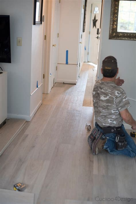 This will hide the unattractive cut edge of the carpeting. Why I chose Karndean vinyl wood plank flooring | Cuckoo4Design