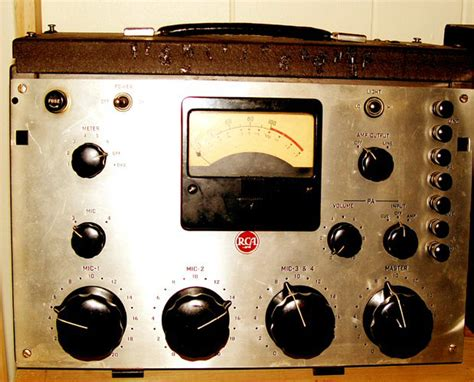 Antique Radio Broadcasting And Sponsors At The Museum Of