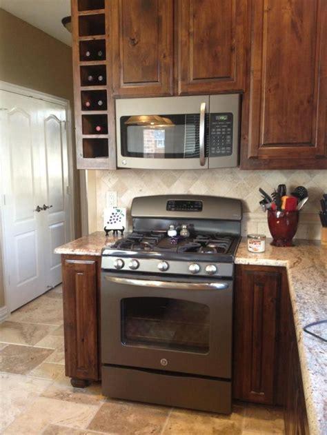 colored appliances ge adora appliances slate finish kitchen