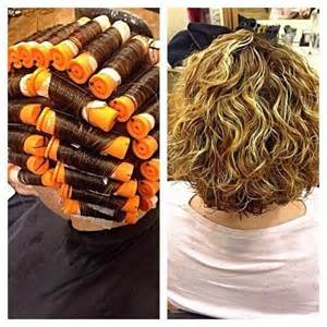 Big Curls Perm with Short Hair