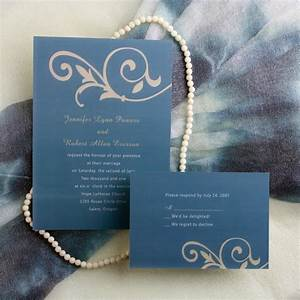 simple floral blue wedding invitations ewi033 as low as 0 With wedding invitation designs color blue