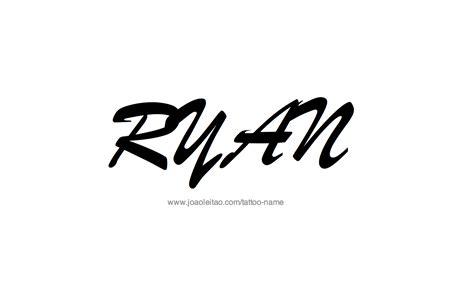 ryan  tattoo designs