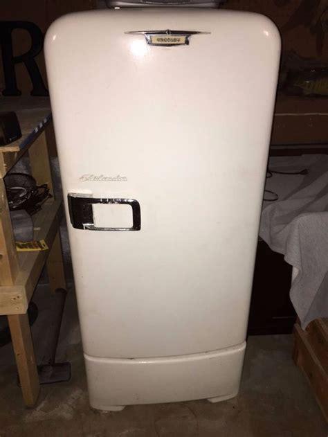 vintage crosley shelvador refrigerator  working