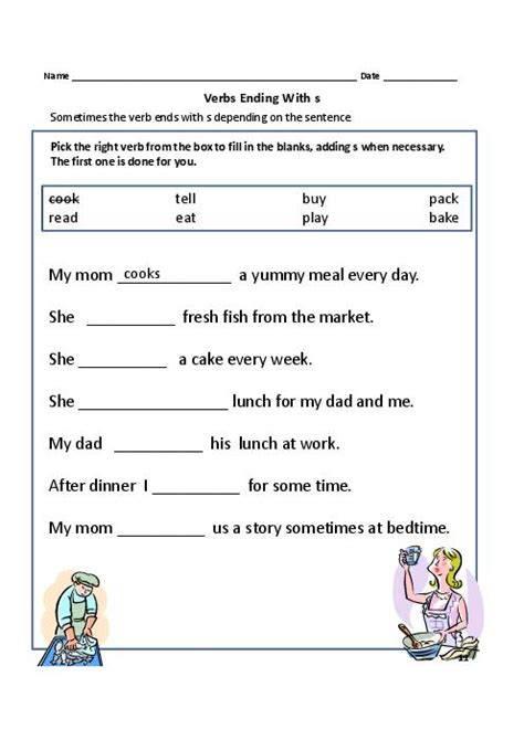verbs worksheets for year 1 homeshealth info
