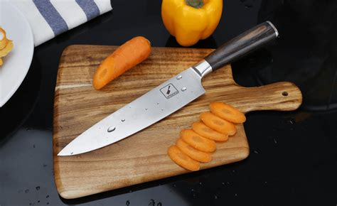 knife chef imarku kitchen inch knives sharp carbon stainless steel professional