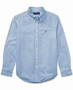 Polo Ralph Big Boys Blake Oxford Shirt Reviews