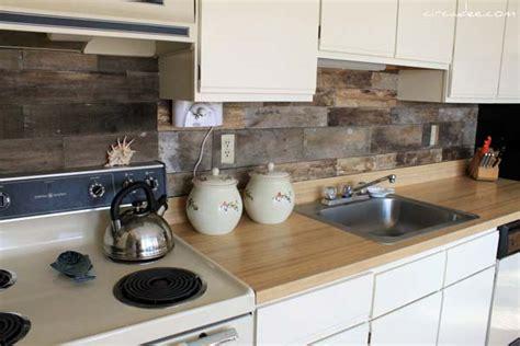 backsplash ideas for kitchens inexpensive 15 inexpensive diy kitchen backsplash ideas and tutorials