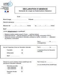 modele de lettre d autorisation d absence pour cif autorisation dabsence pour