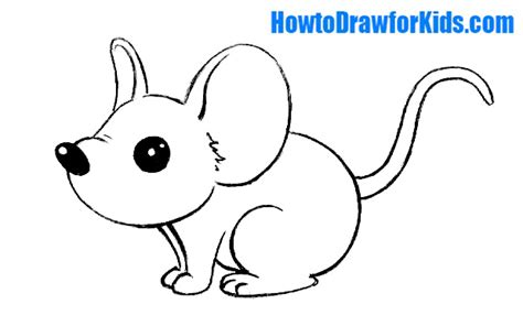 draw  mouse  kids   draw  kids
