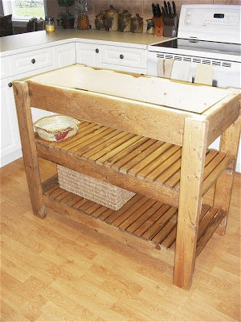 rudy easy kitchen island woodworking plans wood plans  uk ca