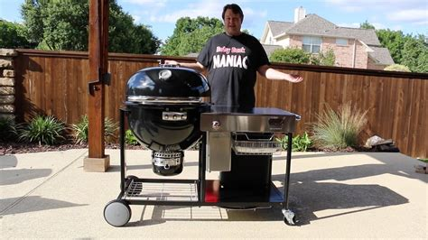 The Weber Summit Charcoal Grill (grilling Center) Is A