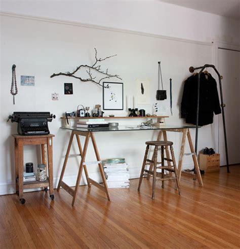 bureau design suedois idée un bureau sur tréteaux 12 inspirations et une