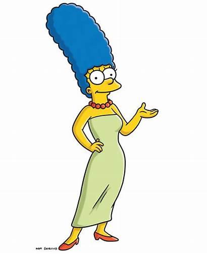 Marge Simpson Hair Cartoon Tall Character Princess