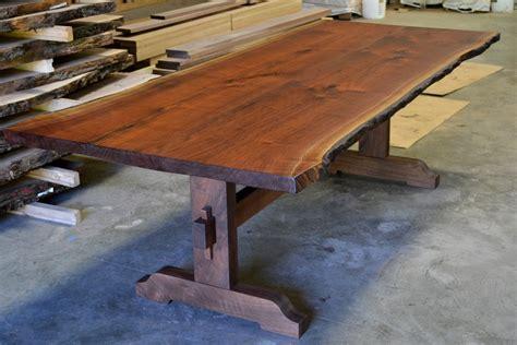King Trestle Table Walnut  Corey Morgan