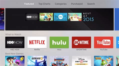 app store  apple tv macrumors