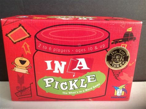 In A Pickle Game By Gamewright 2004 A Dr Toy 10 Best