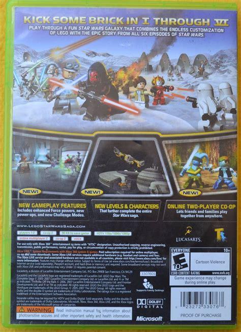 Los vengadores de lego® marvel. Lego Star Wars The Complete Saga Xbox 360* Play Magic ...
