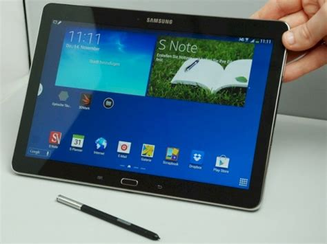 tablet mit stift samsung galaxy note   edition im