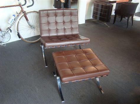 fauteuil et ottoman barcelona knoll occasion fauteuil et
