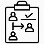 Icon Project Management Task Assignment Allocation Assign