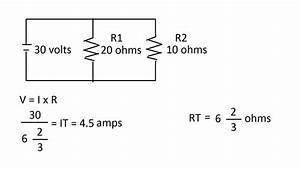 Circuits In Parallel  How To Find Total Resistance   Total