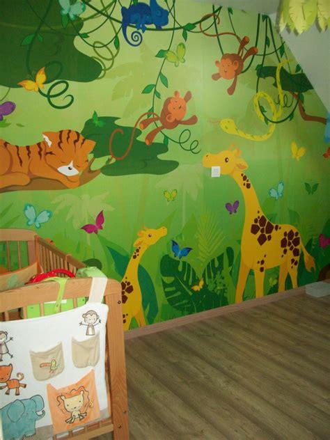 déco jungle chambre bébé déco chambre savane jungle