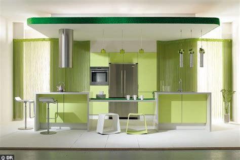 cuisine vert anis et gris vent de fraicheur pour cette cuisine vert anis cuisine