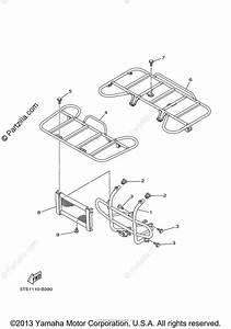 Yamaha Atv 2003 Oem Parts Diagram For Guard