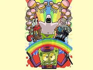 Imagination - SpongeBob SquarePants Wallpaper (1600x1200 ...