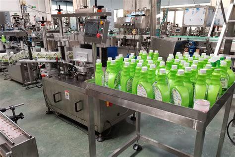 high speed plastic bottle cap sealing machine  alcohol disinfectant liquid cleansing foam