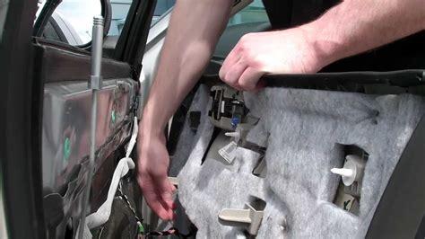 chrysler  door panel removal youtube