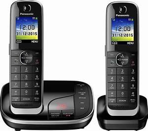 Buy PANASONIC KX-TGJ322EB Cordless Phone with Answering ...  Panasonic