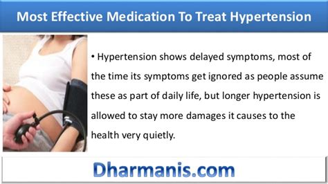 Most Effective And Natural Medication To Treat Hypertension