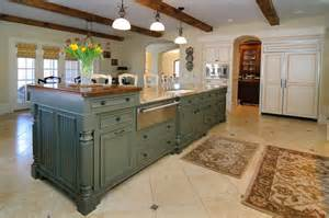 two kitchen islands 72 luxurious custom kitchen island designs