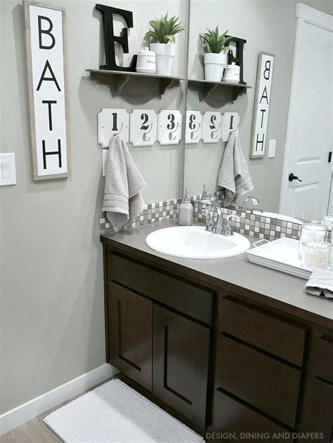 farmhouse bathrooms ideas bathroom decor whiteaker