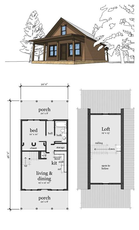 small cabin style house plans small house plans with loft 2018 house plans and home