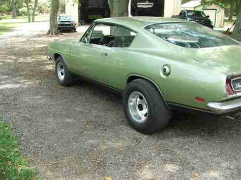buy used original 1969 a56 cuda 1 of 166 made built in 1976 real 70 s time capsal blown in