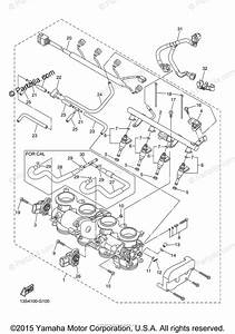 Yamaha Motorcycle 2008 Oem Parts Diagram For Intake 2